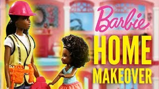 Home Renovations with Barbie® Builder and Mega Bloks® | Barbie