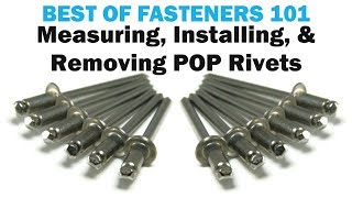 All About Blind POP Rivets - The Basics | Rivets 101