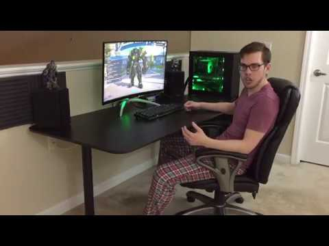 IKEA Bekant 63″ Desk Review with Alex Drawers for a Gaming Setup