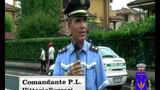preview picture of video 'via Pertini, il commento del comandante della Polizia Locale'