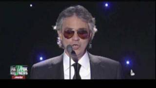 Andrea Bocelli and David Foster - Silent Night