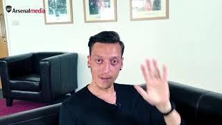Mesut Ozil sends Mehd Ozil a gift