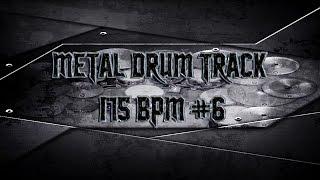 Modern Hardcore Metal Drum Track 175 BPM (HQ,HD) | Preset 2.0