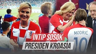 Intip Sosok Presiden Kroasia yang Curi Perhatian di Sepanjang Laga Final Piala Dunia
