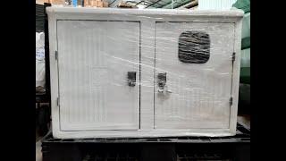 Tủ Điện Kế 2 Ngăn Composite EVN