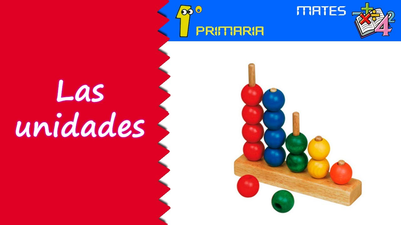 Matemáticas. 1º Primaria. Tema 1: Las unidades