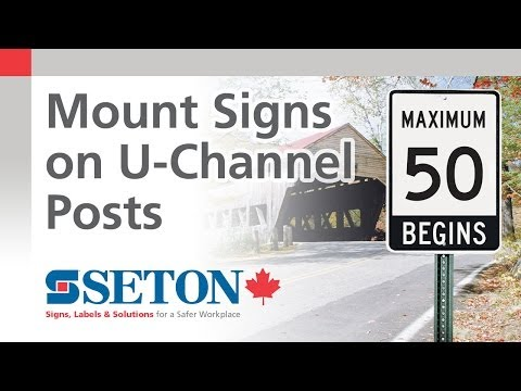 Mounting Signs on U-Channel Posts