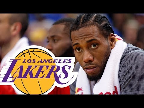 Kawhi Leonard Says He WANTS to Sign In LA! Is Lonzo Ball Gone  767579d06