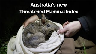 Australia's Threatened Mammal Index