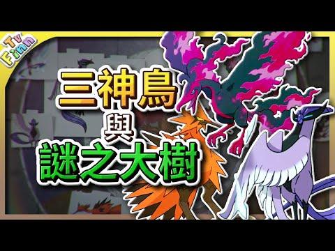 寶可夢劍盾 劍盾擴充票-新館主的可能性、伽勒爾三神鳥的身世之謎!謎之大樹的秘密!探討預想!