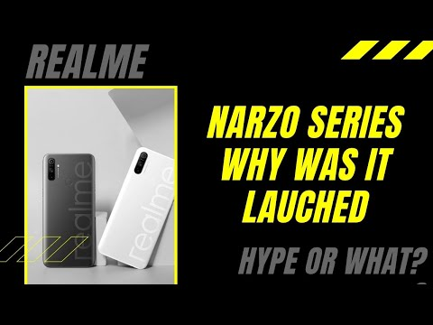 Why did Realme launch Narzo Series with rebranded smartphones?