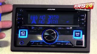 Alpine CDE-W296BT | Autoradio 2-DIN | Review | ARS24