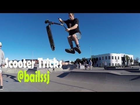 Scooter Tricks by @bailssj