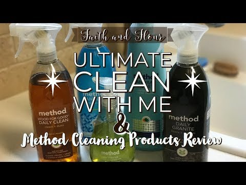 Ultimate Clean with Me | Method Cleaning Products Review | Cleaning Motivation
