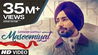 Satinder Sartaaj: Masoomiyat (Full Song) | Beat Minister | Latest Punjabi Songs 2017 | T-Series