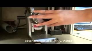 Kennzeichnung Beschriftung von Metall mit Laser, Nadelpräger, Signiertechnik von Schilling