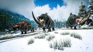 Trailer Woolly Rhino, Eurypterid e Dunkleosteus