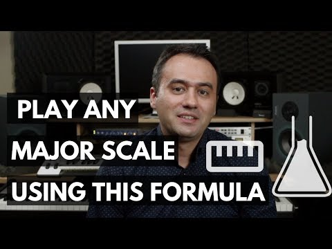 In this video, Dennis shows the major scale formula and how you can use this formula to play the major scale in any key on the piano.