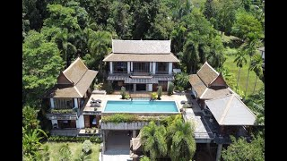 An Exclusive and Prestigious Five Bedroom Villa Surin for Sale with Magnificent Sea Views