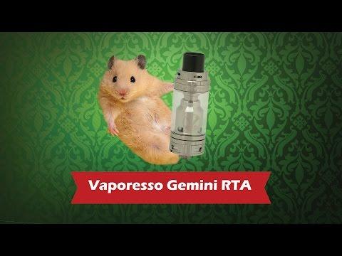 Vaporesso Gemini RTA Tank - обслуживаемый бакомайзер - видео 1