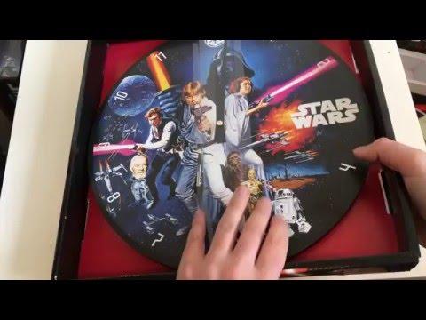 Star Wars Wanduhr Unboxing und erster Eindruck