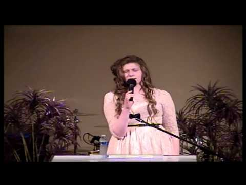 Norfolk Apostolic Church Ruth Papdopoulos Singing 04-28-13 P.M.