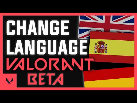 How to change the Language in VALORANT   Tutorial