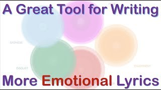 A Great Tool for Writing More Emotional Lyrics - YouTube