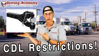 How to Remove Your CDL Class A License Restrictions - Driving Academy