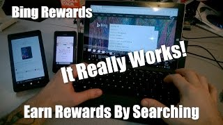 BING REWARDS - A Review and Demo - Earn Rewards By Searching