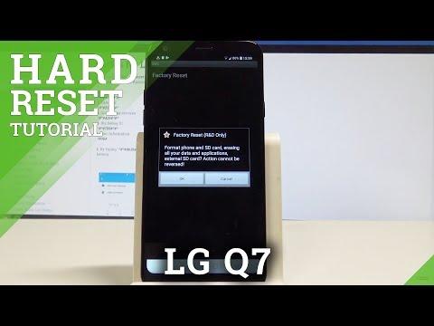 LG Q7 Hard Reset and Soft Reset - смотреть онлайн на Hah Life