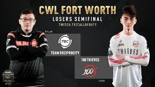 Reciprocity vs 100 Thieves | CWL Fort Worth 2019 | Day 3