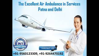 Hire Intensive Care Unit Air Ambulance Services in Patna by Medivic