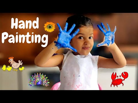Hand Painting For Kids | Easy Hand Painting Ideas | Easy Painting ideas for Kids | PART-2