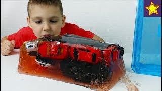 Машинки Игрушки в Желе Делаем Желейные машинки Cars toys