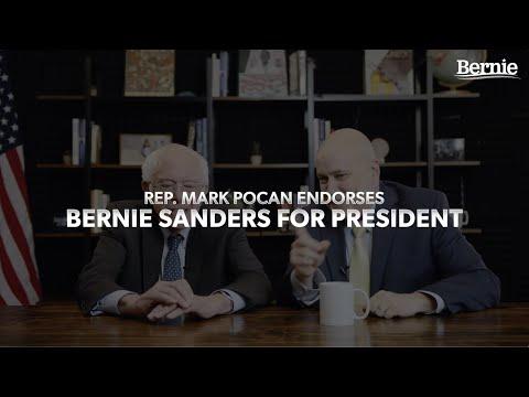 Rep. Mark Pocan Endorses Bernie Sanders
