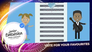 How to vote for your favourite at the Junior Eurovision Song Contest 2020