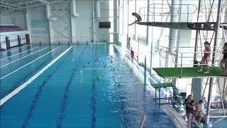 Тренировка по прыжкам в воду.  Спортивные сборы 2018 Севастополь