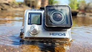 Found Lost GoPro Underwater in River! (Scuba Diving) | DALLMYD