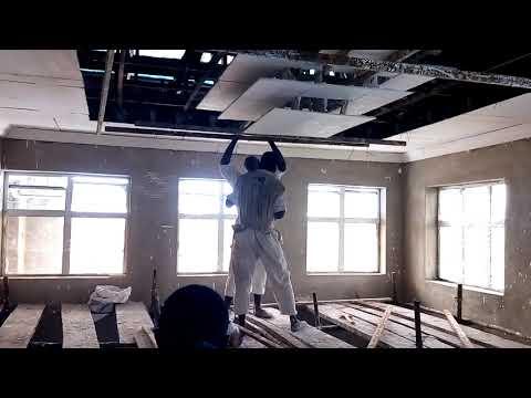 POP ceiling design installation & wall Screeding