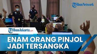 6 Orang Karyawan Perusahaan Pinjol Ilegal Jadi Tersangka, Hasil Penggerebekan di Wilayah Jakbar