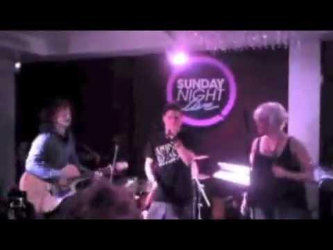 Lucan Mills & Ed Sheeran Freestyle Jam @ Sunday Night Live