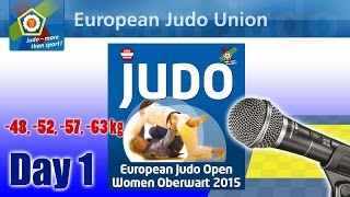preview picture of video 'European Judo Open Women - Oberwart 2015 - Day 1'