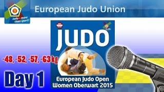 preview picture of video 'European Judo Open Women - Oberwart 2015 - Day 1'