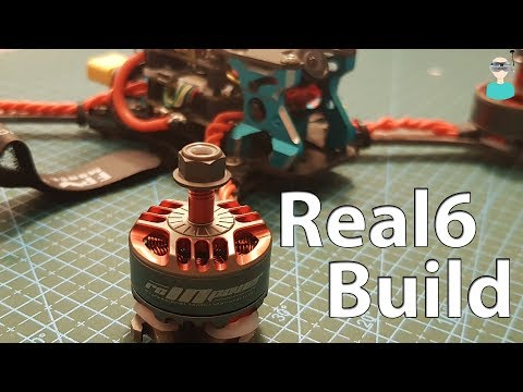 Realacc Real6 Titanium Frame - Build & Flight