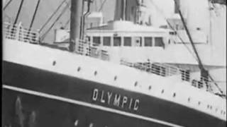 """RMS Olympic- """"The Last Voyage"""", British Movietone 1935 (OlympicWS Opening Titles)"""