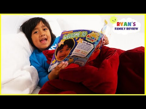 Ryan Reading Meet Ryan Book Story Time – Kid Night Routine!