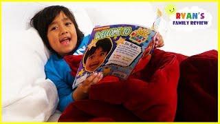 Ryan Reading Meet Ryan Book Story Time - Kid Night Routine!