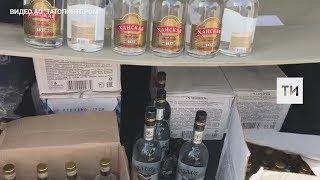 В Кабардино Балкарии ликвидировали 4 подпольных завода, на которых подделывали татарстанскую водку
