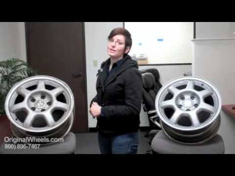 Galant Rims & Galant Wheels - Video of Mitsubishi Factory, Original, OEM, stock new & used rim